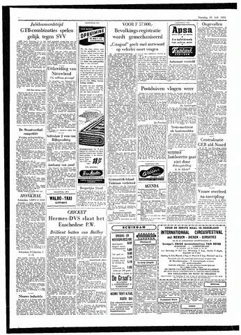 Rotterdamsch Parool / De Schiedammer 1955-07-25