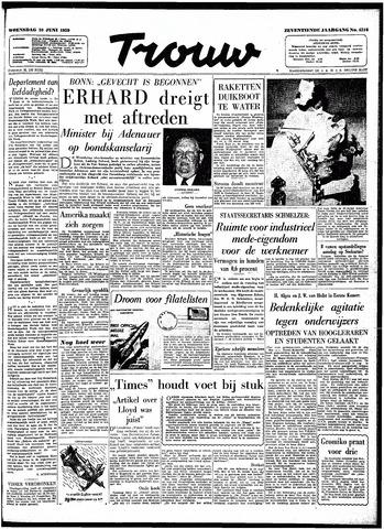 Trouw / De Rotterdammer 1959-06-10