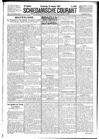 Schiedamsche Courant 1927-01-13