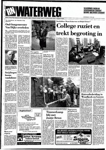 Rotterdamsch Nieuwsblad / Schiedamsche Courant / Rotterdams Dagblad / Waterweg / Algemeen Dagblad 1987-06-04