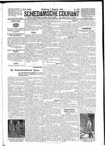 Schiedamsche Courant 1935-08-01