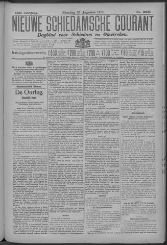 Nieuwe Schiedamsche Courant 1918-08-26