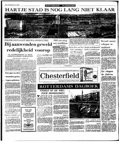 Rotterdamsch Parool / De Schiedammer 1966-07-27