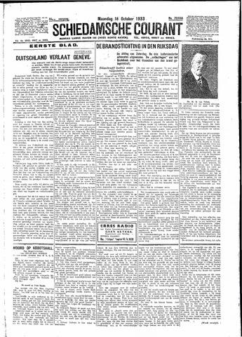 Schiedamsche Courant 1933-10-16