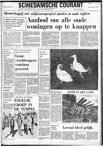Rotterdamsch Nieuwsblad / Schiedamsche Courant / Rotterdams Dagblad / Waterweg / Algemeen Dagblad 1974-02-16