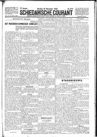 Schiedamsche Courant 1929-11-26