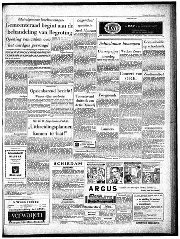 Rotterdamsch Parool / De Schiedammer 1963-11-23