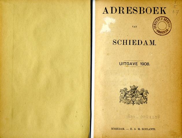 Adresboeken 1908