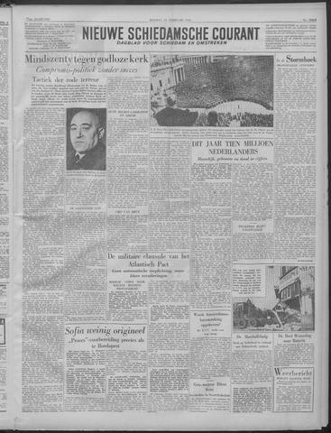 Nieuwe Schiedamsche Courant 1949-02-22