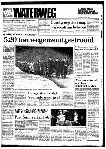 Rotterdamsch Nieuwsblad / Schiedamsche Courant / Rotterdams Dagblad / Waterweg / Algemeen Dagblad 1985-01-09