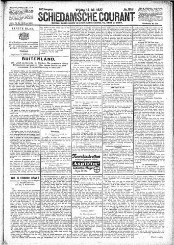 Schiedamsche Courant 1927-07-15