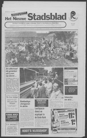 Het Nieuwe Stadsblad 1976-07-21