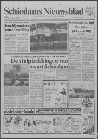 Schiedams Nieuwsblad 1979-06-27
