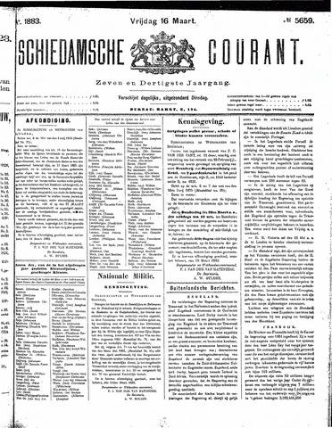 Schiedamsche Courant 1883-03-16
