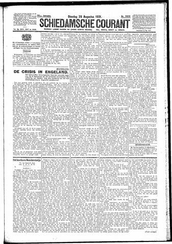 Schiedamsche Courant 1931-08-25