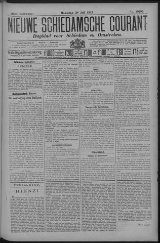 Nieuwe Schiedamsche Courant 1913-07-27