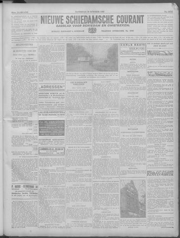 Nieuwe Schiedamsche Courant 1933-10-28