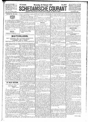 Schiedamsche Courant 1927-02-23