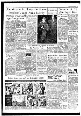 Rotterdamsch Parool / De Schiedammer 1957-11-04