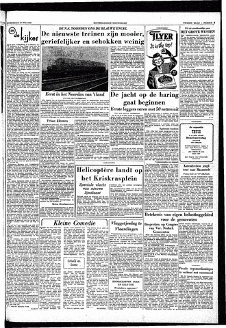 Rotterdamsch Nieuwsblad / Schiedamsche Courant / Rotterdams Dagblad / Waterweg / Algemeen Dagblad 1953-05-13