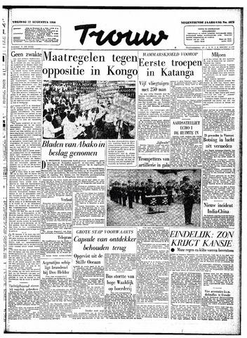 Trouw / De Rotterdammer 1960-08-12