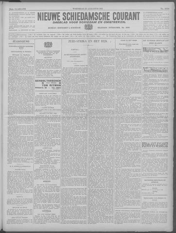 Nieuwe Schiedamsche Courant 1933-08-23