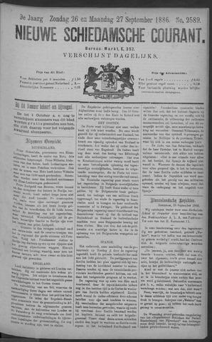 Nieuwe Schiedamsche Courant 1886-09-27