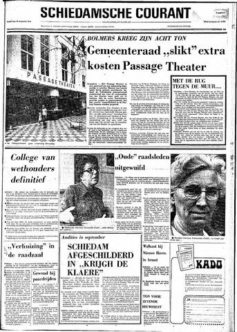 Rotterdamsch Nieuwsblad / Schiedamsche Courant / Rotterdams Dagblad / Waterweg / Algemeen Dagblad 1974-08-29