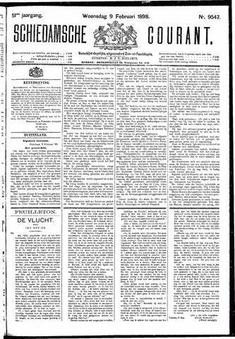 Schiedamsche Courant 1898-02-09