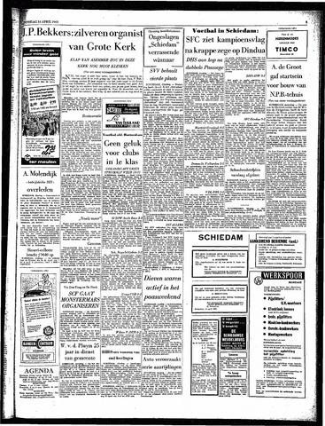 Rotterdamsch Parool / De Schiedammer 1963-04-16