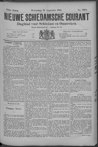 Nieuwe Schiedamsche Courant 1901-08-21