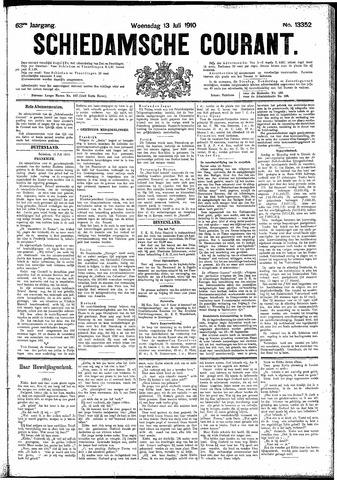 Schiedamsche Courant 1910-07-13