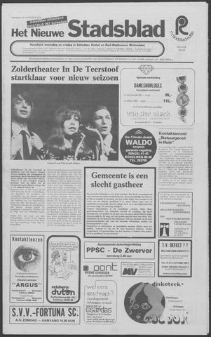 Het Nieuwe Stadsblad 1974-08-30