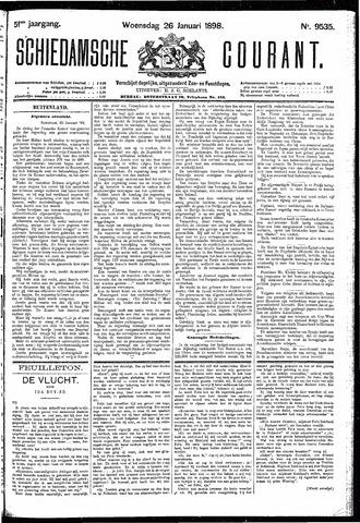 Schiedamsche Courant 1898-01-26