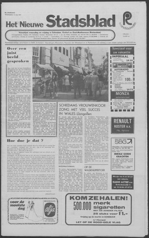 Het Nieuwe Stadsblad 1971-07-14