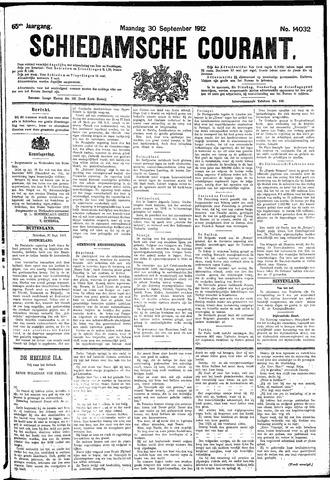 Schiedamsche Courant 1912-09-30