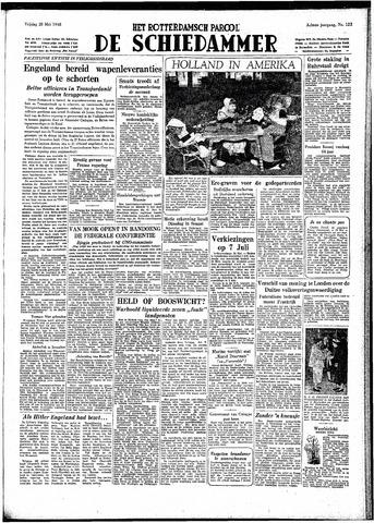 Rotterdamsch Parool / De Schiedammer 1948-05-28