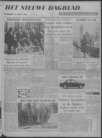 Nieuwe Schiedamsche Courant 1961-03-02