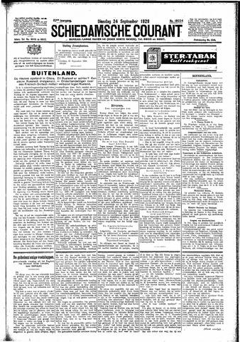 Schiedamsche Courant 1929-09-24