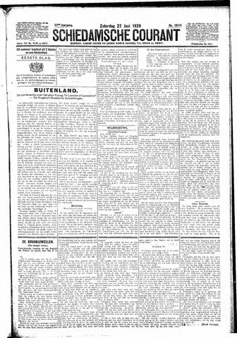 Schiedamsche Courant 1929-06-22