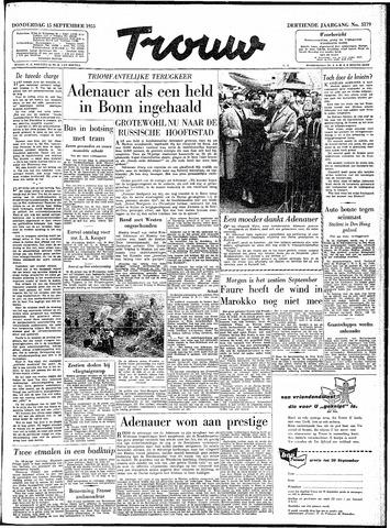 Trouw / De Rotterdammer 1955-09-15