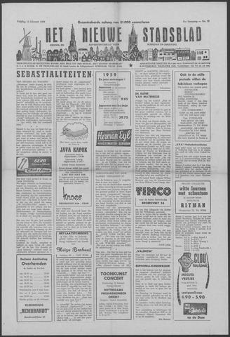 Het Nieuwe Stadsblad 1959-02-13