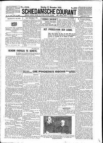 Schiedamsche Courant 1933-11-21