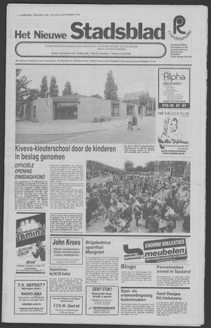 Het Nieuwe Stadsblad 1978-09-22