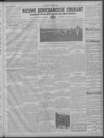 Nieuwe Schiedamsche Courant 1932-04-11