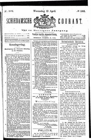 Schiedamsche Courant 1881-04-13