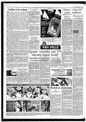Rotterdamsch Parool / De Schiedammer 1957-02-06