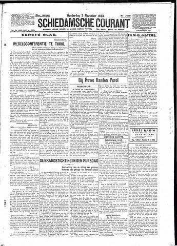 Schiedamsche Courant 1933-11-02