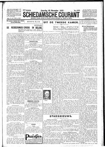 Schiedamsche Courant 1929-11-30