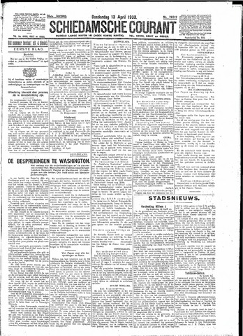 Schiedamsche Courant 1933-04-13